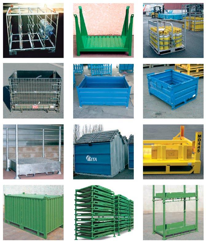 Caisses et conteneurs m tallique ou grillag s prix fabricant for Fabricant conteneur